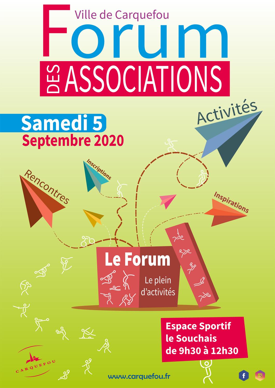 Affiche Forum Associations 2020